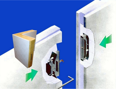 Camlock Fasteners offer an Airtight Panel Joint